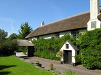 Country cottages near Minehead in Somerset