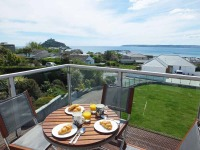 Contemporary detached house Mounts Bay and St Michael's Mount.