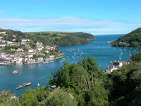 Stunning harbour views over Dartmouth.