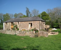 Converted barn to let in Devon