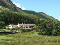 Lakeland farmhouse and barns