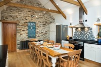 Holiday barn conversion near north Cornish coast