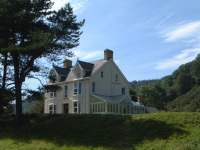 Large holiday house in Cardigan Bay
