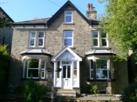 Large Victorian house in the historic spa town of Buxton